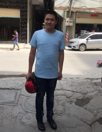 寻找汕头市17岁男孩患智力障碍走失,穿蓝色短袖